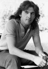 Kirk Stevens  Canadian snooker player  June 1985.