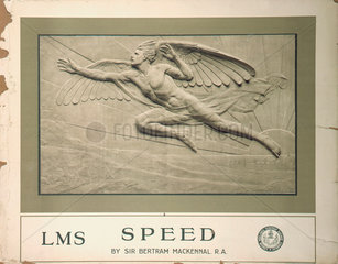 'Speed'  LMS poster  1924.