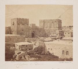 'Chateau de David'  1857.