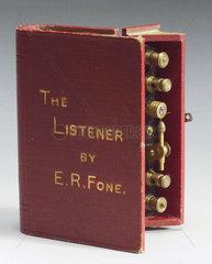 Novelty crystal radio set  c 1924.