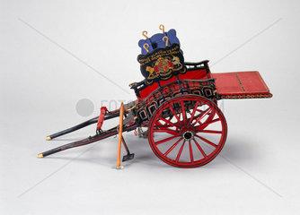 Horse slaughterer's cart  c 1850.