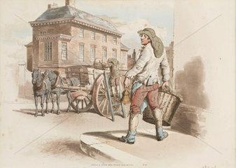 'Dustman'  1808.