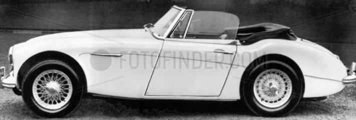 Austin Healey Sports Convertible Mark III  February 1964.