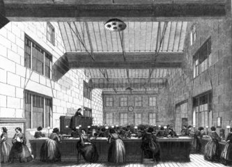 Electric and International Telegraph Company office  London  1859.