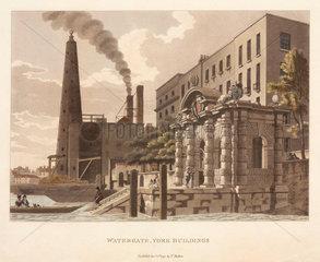 'Watergate  York Buildings'  London  1795.