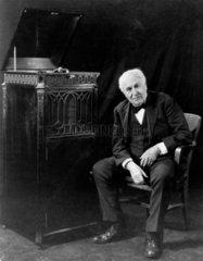 Thomas Alva Edison  American inventor  c 1920s.