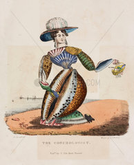 'The Conchologist'  c 1831.
