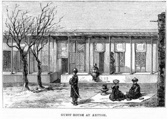 'Guest House at Arytsh'  Turkestan  1874.