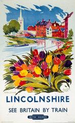 'Lincolnshire - Spalding'  BR (ER)  1960.