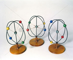 Werner's models illustrating racemization  early 20th century.