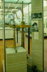 Eotvos' torsion balance on display in the Science Museum  London  c 1920s.