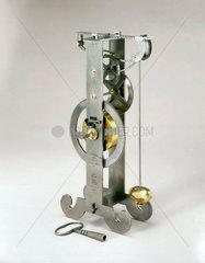 Galileo's pendulum clock  c 1642.