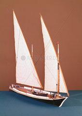 Barque du Leman  19th century.