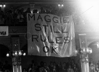 'Maggie Still Rules OK'  c 1983.