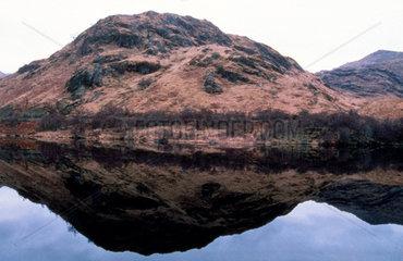 Loch Eilt on the West Highland Line  1997.