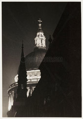 St Paul's Cathedral  London   1937.