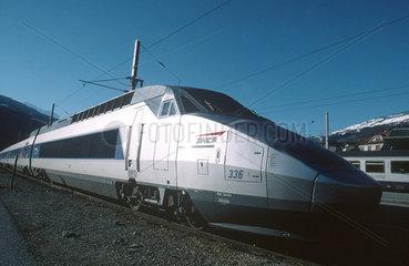 Train a Grande Vitesse (TGV)  France  2001.