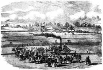 James Boydell's steam horse  1857.