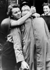 Women Home Guard learning unarmed combat  October 1942.