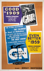 'Good in 1909  Even Better in 1959'. GNR poster  1959.