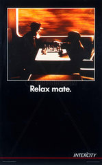 'Relax mate'  BR poster  1992.