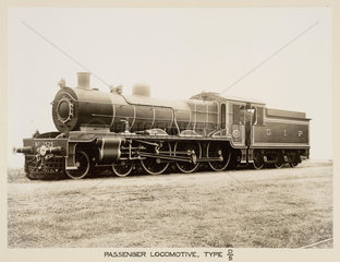 Steam locomotive  India  c 1930.