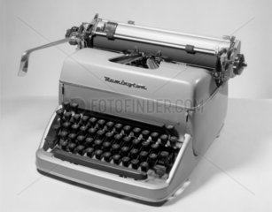 Remington standard typewriter  1950.