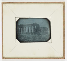 'Athens North East Arch of Parthenon'  1852.