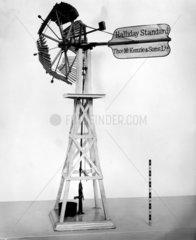 Halliday's 'Standard' self-regulating windmill  1877.