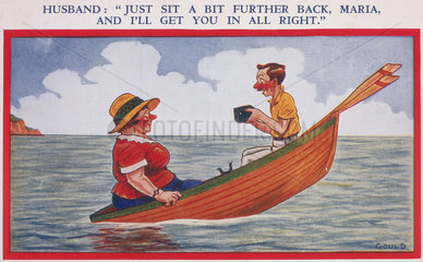 'Just Sit a Bit Further Back  Maria  and I'll Get You In All Right'  c 1930.