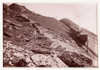 'Nearing the Summit'  1894.