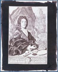 Johann Jakob Scheuchzer  Swiss mathematician  c 1700.