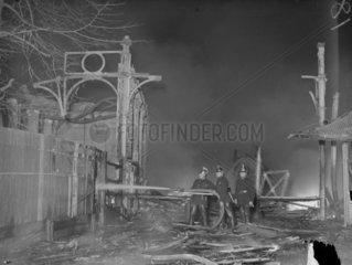 Firemen  Crystal Palace 30 November 1936.