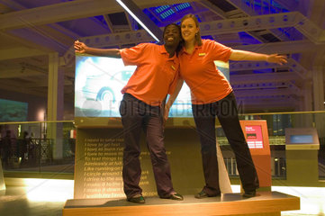 Explainers  Science Museum  London  2007.