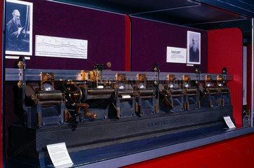 Kelvin's harmonic analyser  1878.