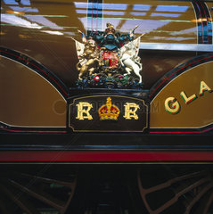 'Gladstone'  London Brighton & South Coast Railway 0-4-2 locomotive  1882.