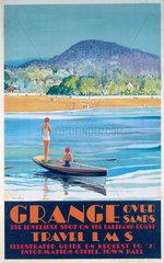 'Grange over Sands'  LMS poster  1923-1947.