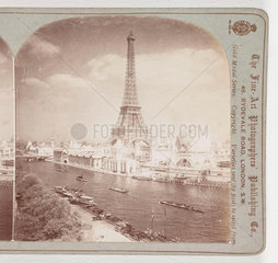 Exposition Universelle from the Right Bank of the Seine  Paris'  1900 .