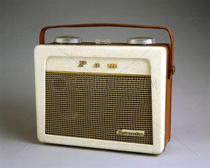 Pam 710 portable radio receiver  1956.