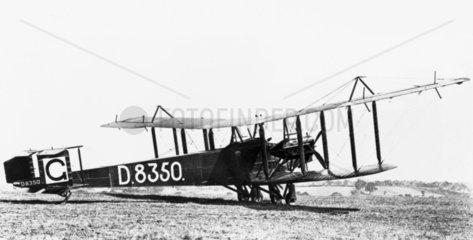 Handley Page O/400 Civil Conversion  June 1919.