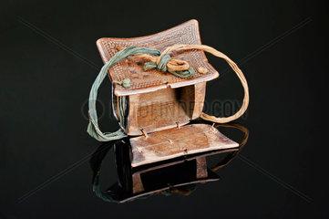 Wooden medicine box  Africa  1880-1920.