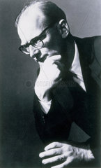 Arthur C Clarke  British science fiction author and inventor  1950s.