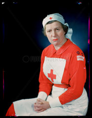 'Mrs Claude Elliott  WVS'  c 1943.