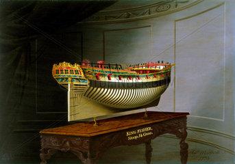 HMS 'Kingfisher'  1775.