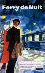 'Ferry de Nuit'  BR poster  1959.