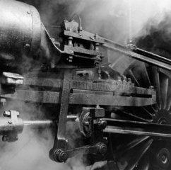 Cylinder motion of a British Railways Stand