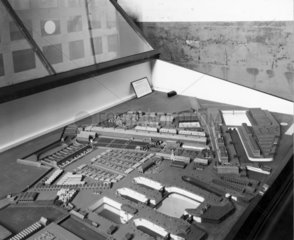 Model of Portsmouth Dockyard  1774.