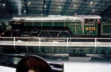 'Green Arrow'  London & North Eastern Railway steam locomotive  1936.