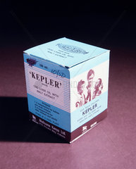 Kepler cod liver oil with malt extract  1880-1930.