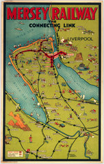 'Mersey Rail - The Connecting Link'  Mersey